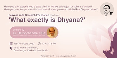 What exactly is Dhyana?