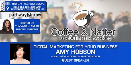 Solihull Coffee & Natter - Free Business Networking Thur 27th February tickets