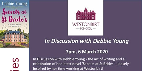 In Discussion with Debbie Young -  Lecture & Supper tickets