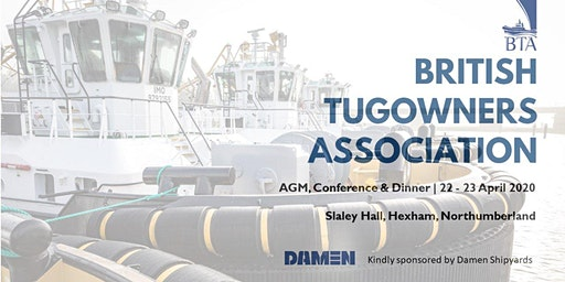 British Tugowners Association AGM, Conference, Dinner & Golf