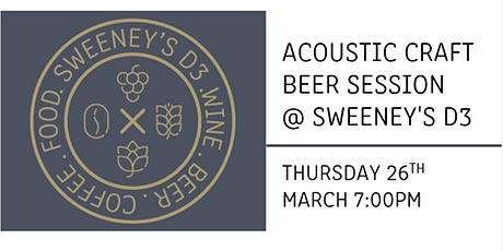 Acoustic Beer Session with Niamh & Joe tickets