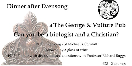 Can you be a biologist and a Christian? tickets