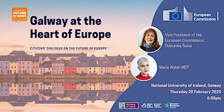 Galway at the Heart of Europe - Citizens' Dialogue on the Future of Europe tickets