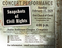 Snapshots of Civil Rights Concert