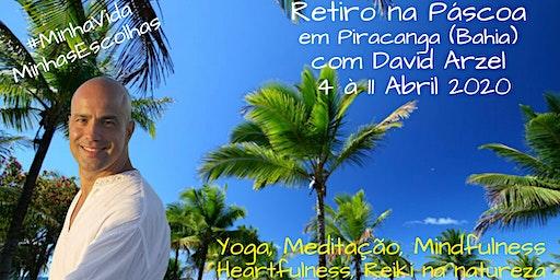 Retiro de Yoga, Meditação, Mindfulness, Heartfulness e Reiki - Páscoa 2020