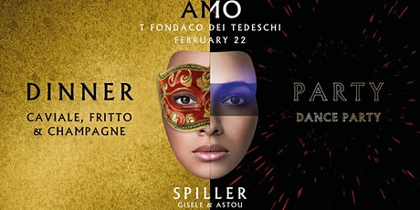 AMO Carnival dinner & party @ T-Fondaco Rialto Venezia tickets