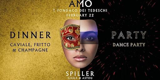AMO Carnival dinner & party @ T-Fondaco Rialto Venezia