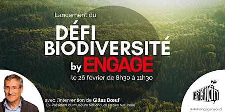 Conférence de lancement du Défi Biodiversité billets