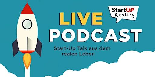 """Livepodcast """"Start Up Reality"""""""