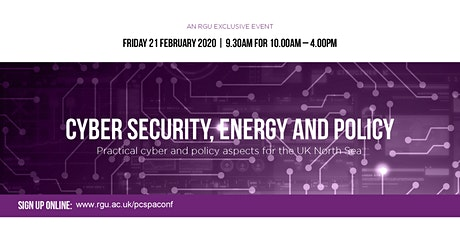 Practical Cyber Security and Policy Aspects for the UK North Sea tickets