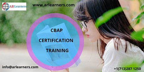 CBAP Certification Training in Rochester, NY, USA tickets