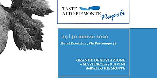 Taste Alto Piemonte - Napoli edition