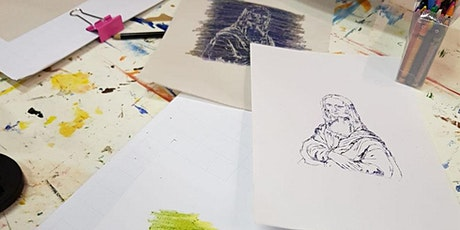 POSTPONED - Poundland Portraits - Free Monoprint Workshop tickets