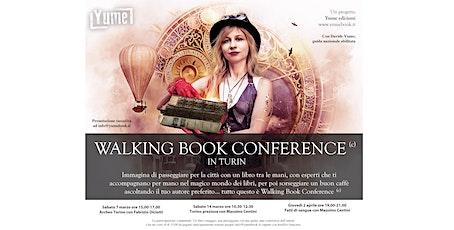 Yume presenta WALKING BOOK CONFERENCE ©:  dal 7 marzo a Torino biglietti
