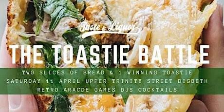 Toastie Battle tickets
