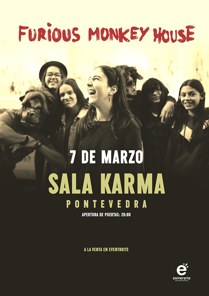 Imagen de Concierto FURIOUS MONKEY HOUSE _ Sala Karma_Pontevedra
