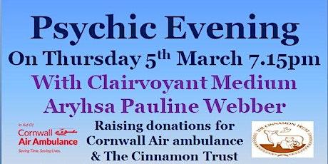 Psychic Evening tickets