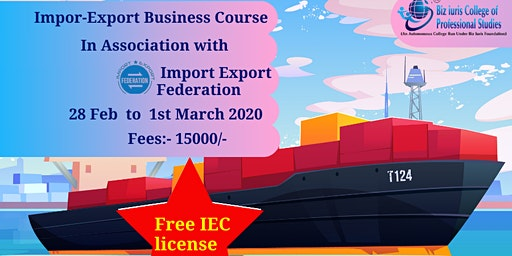 Import Export Business Course