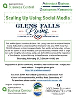Scaling Up Using Social Media: Glens Falls Living