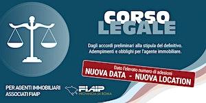 CORSO LEGALE GRATUITO FIAIP ROMA - DAGLI ACCORDI...