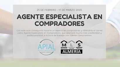 Agente Inmobiliario Especialista en Compradores entradas