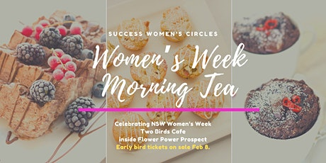 Women's Week Morning Tea tickets