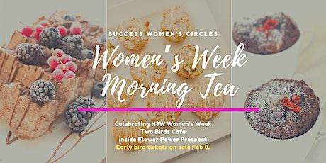 Women's Week Morning Tea tickets