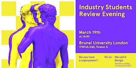 Masters Industry Students Review Evening |  Design Powerful Renaissance tickets