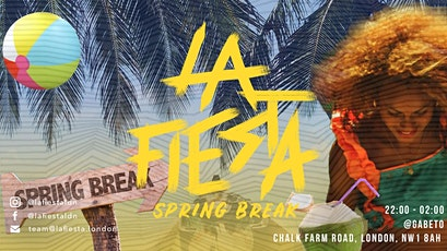 LA FIESTA: Springbreak tickets