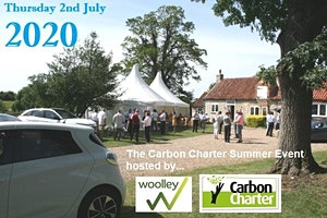 2020 Carbon Charter Summer Event at WOOLLEY