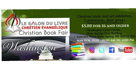 Washington Christian Book Fair / Salon du Livre Évangélique et Arts i tickets