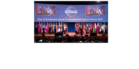 Area 58 Evaluation Speech & International Speech Contests 2020 tickets