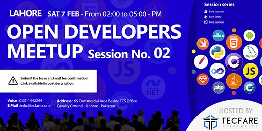 Lahore Open Developers Meetup Session 02