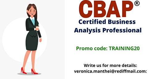 CBAP Certification Training in Dayton, OH