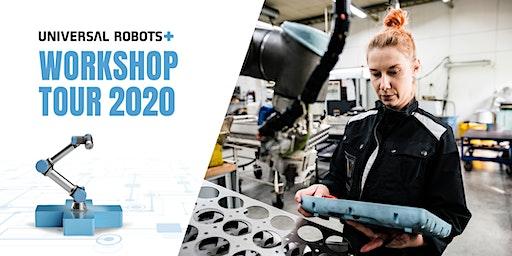 Universal Robots+  Workshop kiertue 2020 - Helsinki
