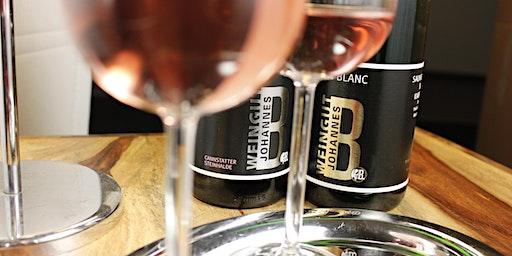 Weinprobe im Weingut Johannes B.