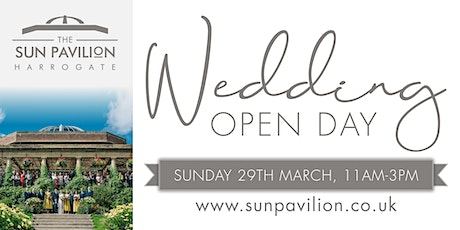 The Sun Pavilion Wedding Open Day tickets
