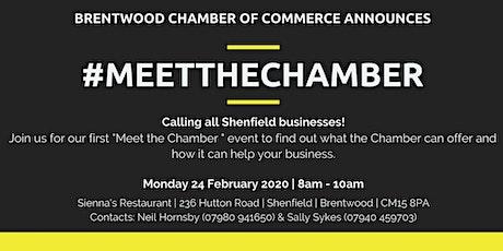 Meet the Chamber (Shenfield) tickets