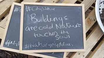 Nature in Your Space/Natur yn eich Gofod: Urban & Suburban Workshop