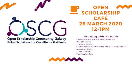 Open Scholarship Café - Engaging with the Public