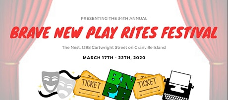 Brave New Play Rites Festival 2020 tickets