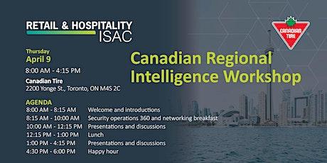 Canadian Regional Intelligence Workshop tickets