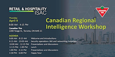 Canadian Regional Intelligence Workshop
