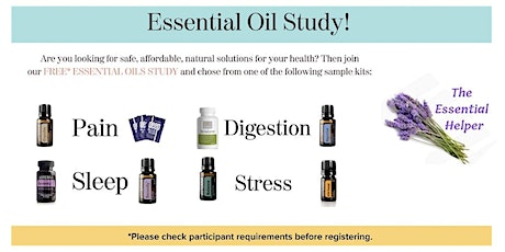 Essential Oils Post-Study Debriefing Event - LIVE tickets