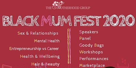 BLACK MUM FEST 2020 tickets