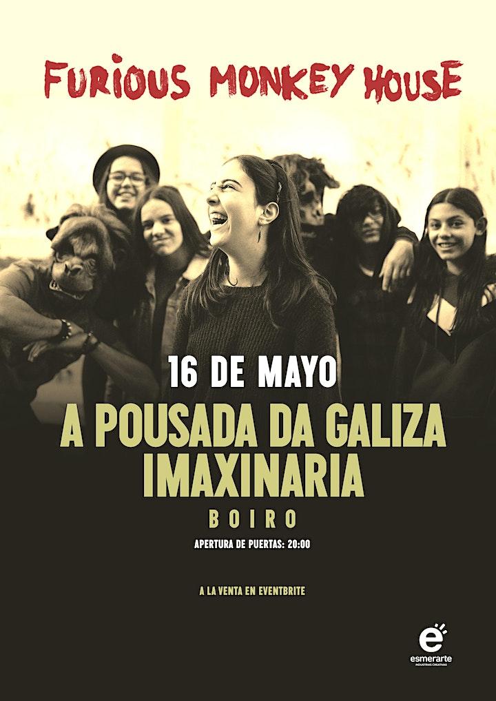 Imagen de Concierto FURIOUS MONKEY HOUSE _  Pousada da Galiza Imaxinaria _ Boiro