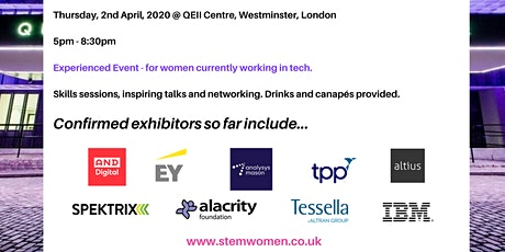 STEM Women Technology Event: Industry Experience. tickets