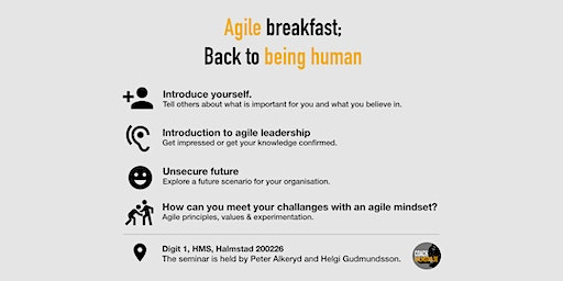 Agile Breakfast: back to Being Human