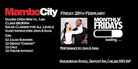 Launch Night Monthly Fridays tickets