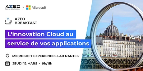 [Nantes] Matinale : L'innovation Cloud au service de vos applications billets